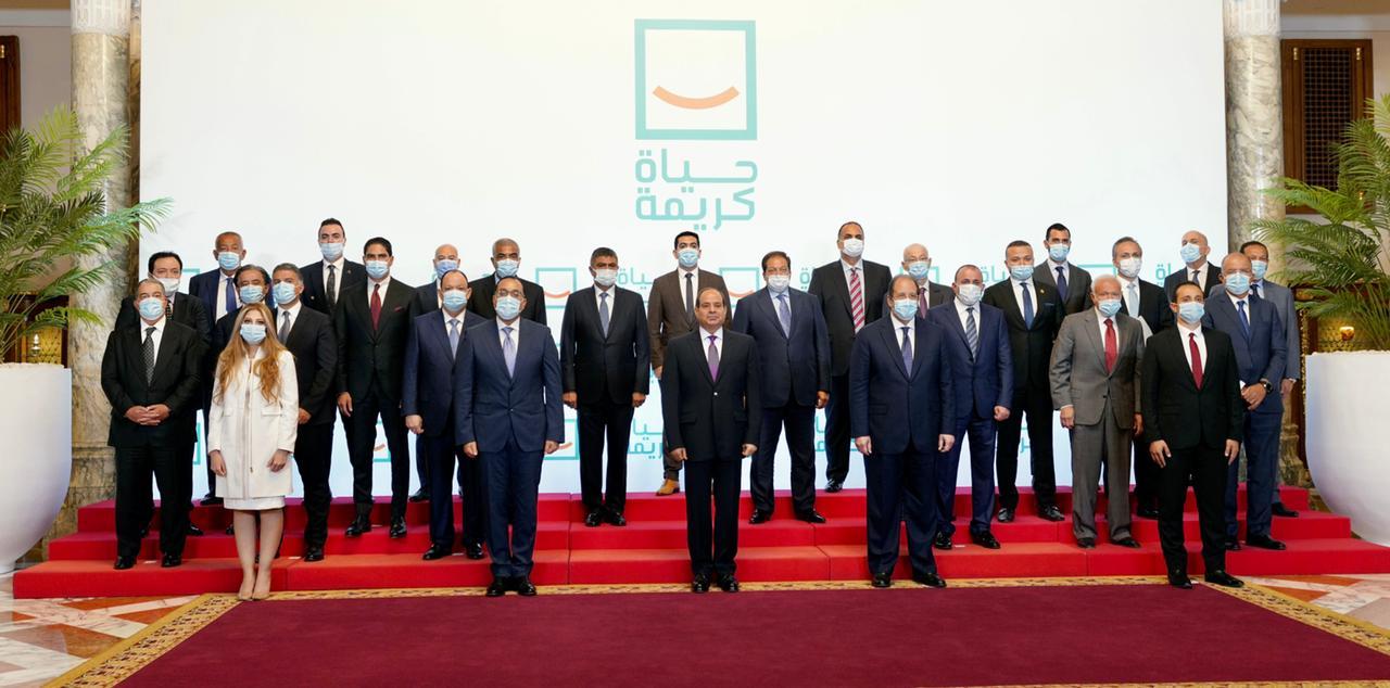 اهتمام الرئيس السيسي بمبادرة «حياة كريمة» أبرز اهتمامات الصحف
