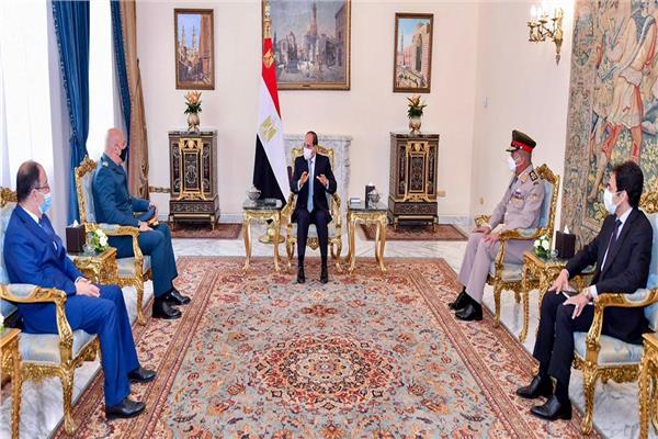 الرئيس السيسي لقائد الجيش اللبناني: الجيوش الوطنية هي العمود الفقري الضامن لاستقرار وتماسك الدول