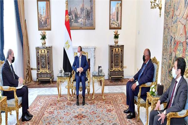 الرئيس السيسي يستقبل وزير الخارجية وشئون المغتربين بالمملكة الأردنية الهاشمية