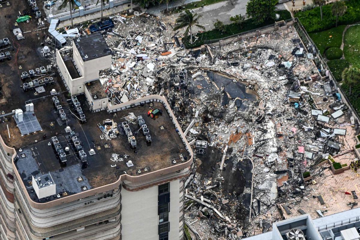 ارتفاع عدد ضحايا المبنى المنهار في مقاطعة ميامي الأمريكية إلى 60 قتيلا
