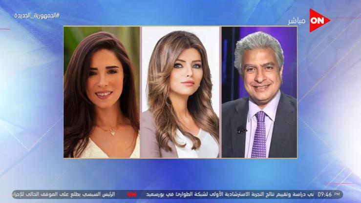 فيديو| لميس الحديدي توجه رسالة إلى إيمان الحصري وأسماء مصطفى والإبراشي