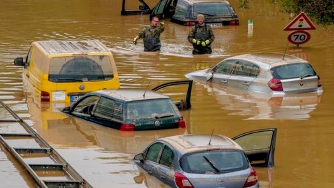 فيضانات ألمانيا تكلف شركات التأمين ما يصل إلى 5 مليارات يورو