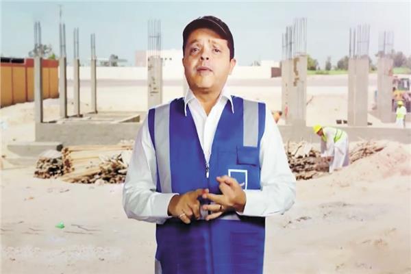 محمد هنيدي يؤكدا أن حلم كل مصري سيتم تنفيذه على أرض الواقع