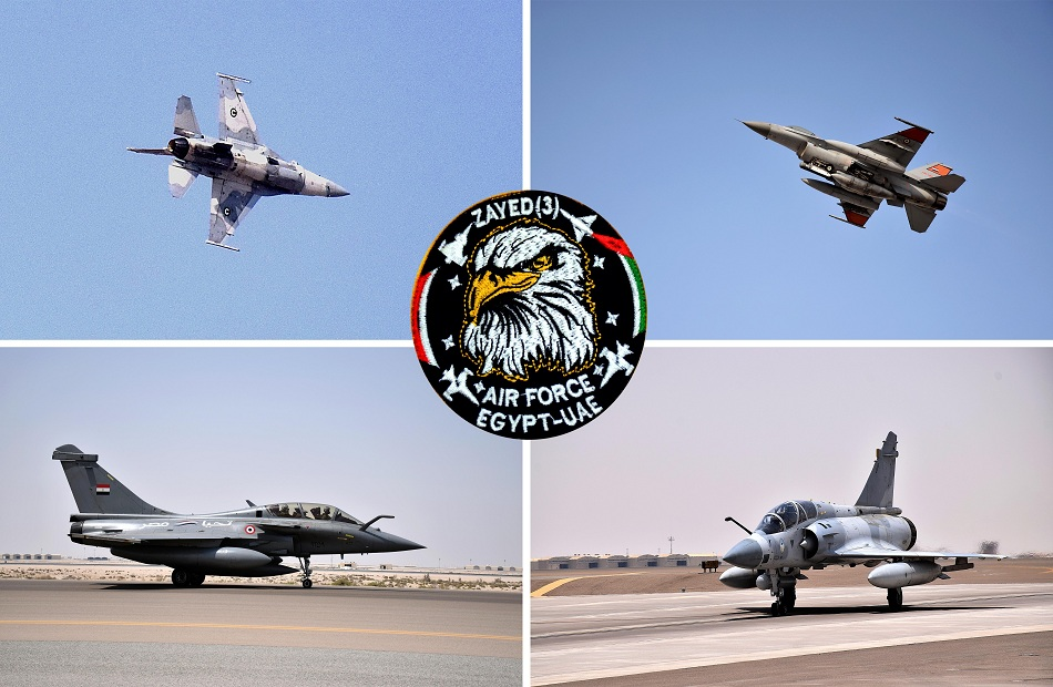 استمرار التدريب المشترك الجوي المصري الإماراتي «زايد-3» في الإمارات