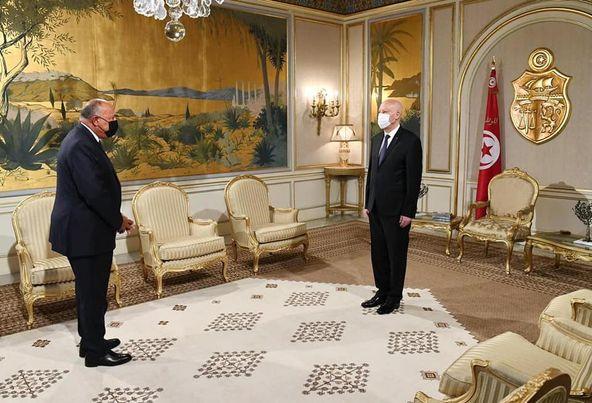 الرئيس السيسي يعرب عن تضامن مصر ودعمها لجهود قيس سعيد الرامية للاستجابة لتطلعات الشعب التونسي