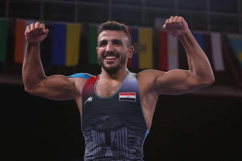 كيشو يفوز بالميدالية البرونزية للمصارعة الرومانية في أولمبياد طوكيو