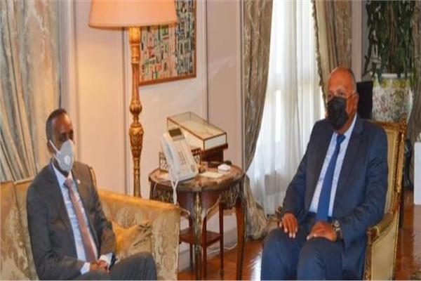 وزير الخارجية يلتقي رئيس وزراء الصومال