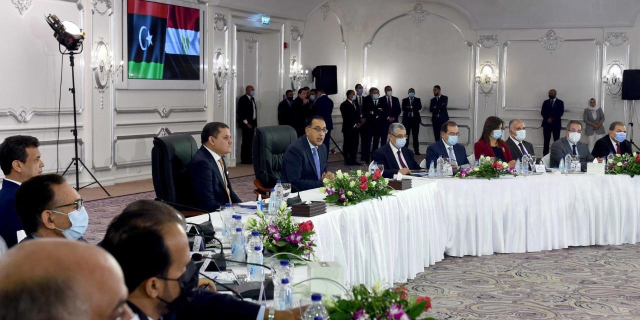 اللجنة العليا المصرية الليبية المشتركة توقع ١٤ مذكرة تفاهم و ٦ عقود تنفيذية