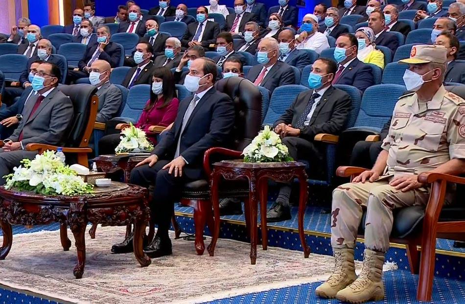 ننشر التفاصيل الكاملة لافتتاحات الرئيس السيسي اليوم في الإسكندرية