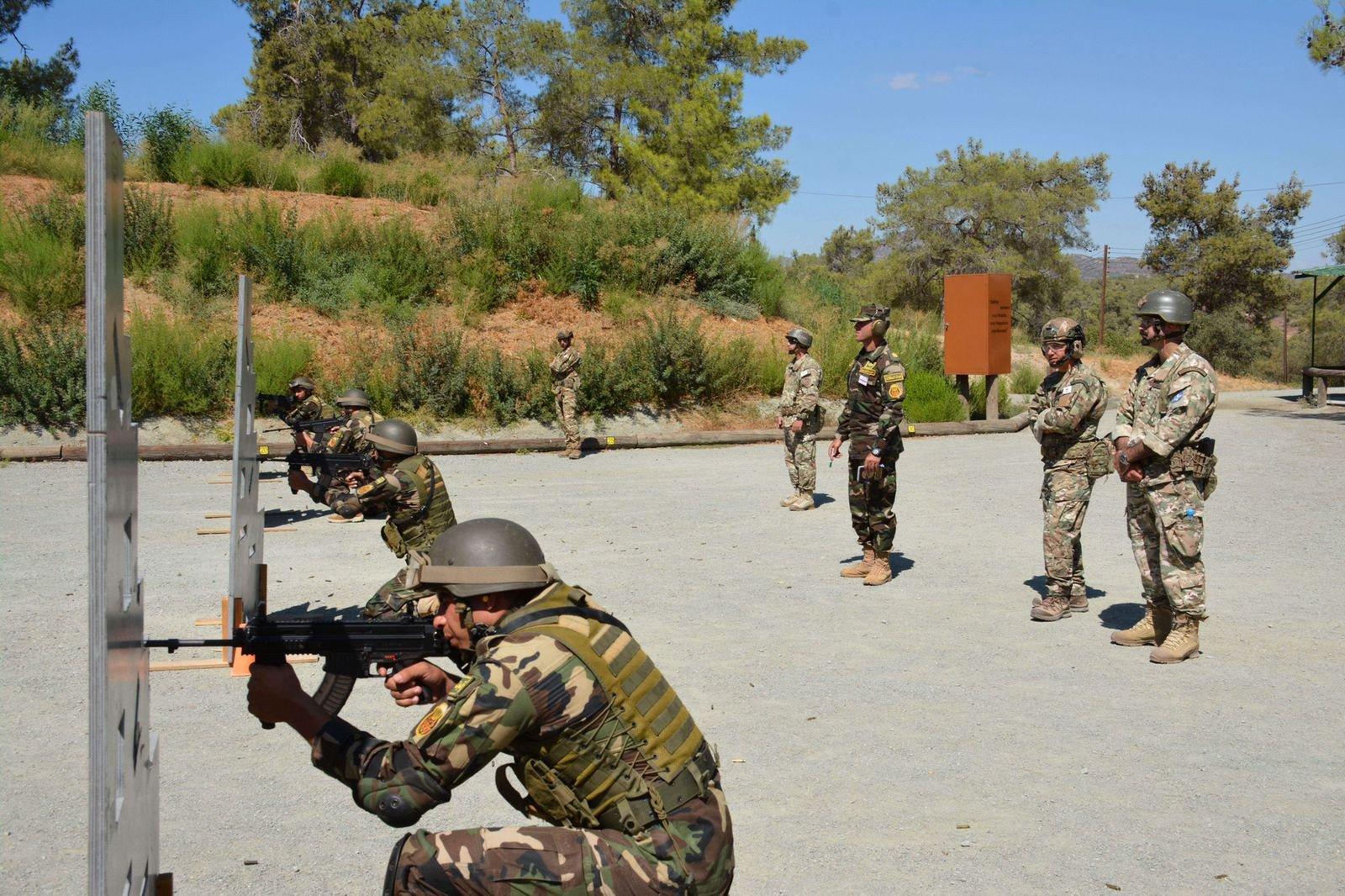 التدريب المصرى - القبرصى-3
