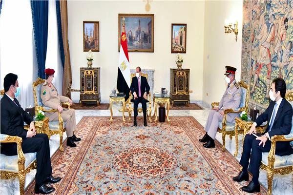 الرئيس السيسي: موقف مصر ثابت للوصول إلى حل سياسي شامل للأزمة اليمنية