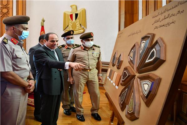 الرئيس السيسي يتابع عددا من مشروعات الهيئة الهندسية على مستوى الجمهورية