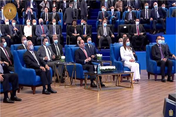 الرئيس السيسي يطلق تقرير الأمم المتحدة للتنمية البشرية في مصر 2021