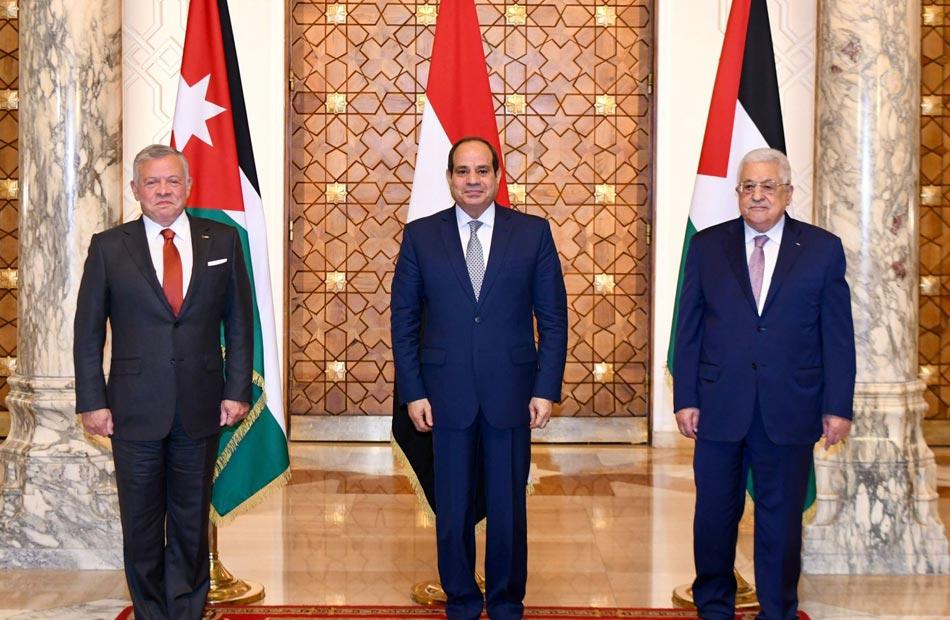 نائب الوفد بالشيوخ: القمة الثلاثية تؤكد ثبات الموقف المصري على دعم القضية الفلسطينية