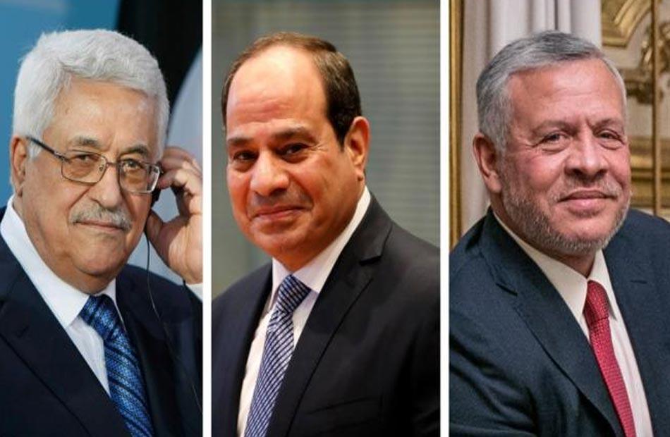 الرئيس السيسي: تحقيق آمال شعب فلسطين في دولة مستقلة لن يأتي إلا بإنهاء الانقسام
