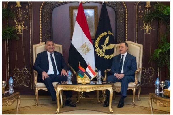 وزير الداخلية الليبي: «الأمن المصري» متميز ووجهة تدريبية للكوادر العربية