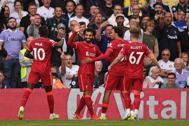 ليفربول يفوز على ليدز بثلاثية نظيفة بالدوري الإنجليزي