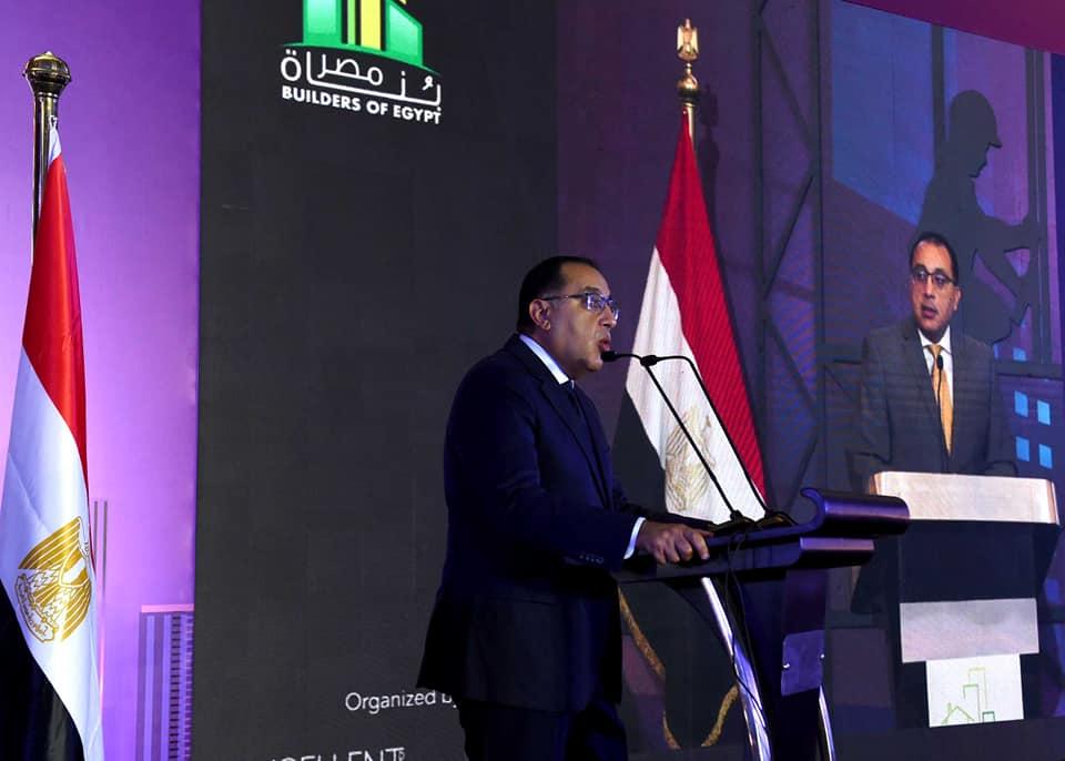 """مدبولي: ما تحقق في مصر بالتشييد والبناء والبنية التحتية خلال 7 سنوات """"إعجاز بكل المقاييس"""""""