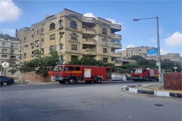 الحماية المدنية تسيطر على حريق منزل الفنان شريف منير بالمقطم