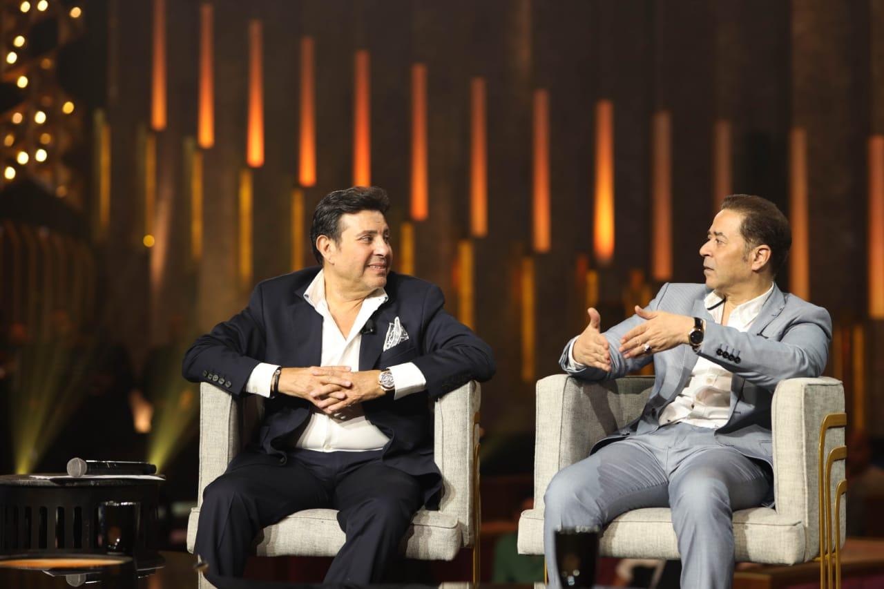 """هاني شاكر و مدحت صالح في ضيافة برنامج """"سهرانين"""""""