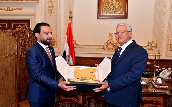 حنفي جبالي يلتقي رئيس مجلس النواب العراقي