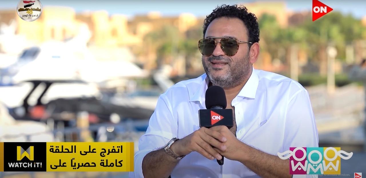 """فيديو  أكرم حسني: أجهز لأغنية مع محمد منير وانتظروني في """"العميل صفر"""""""