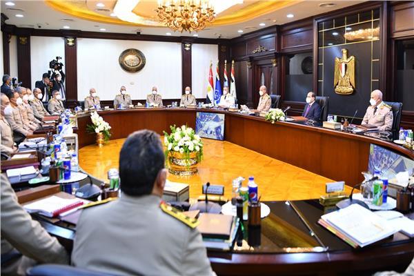 الرئيس السيسي يترأس اجتماع المجلس الأعلى للقوات المسلحة
