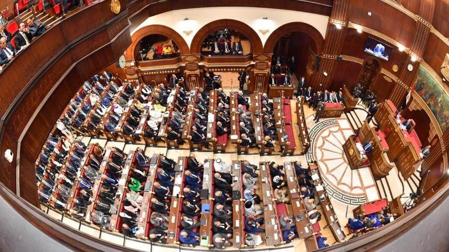 بهاء أبو شقة يترأس جلسة مجلس الشيوخ ويدعو لانتخابات اللجان النوعية