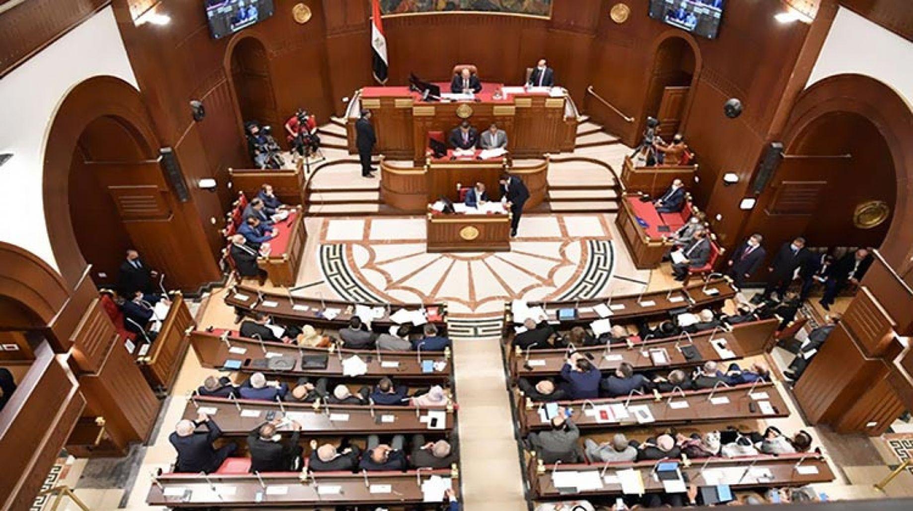 مجلس الشيوخ يعلن نتائج انتخابات اللجان