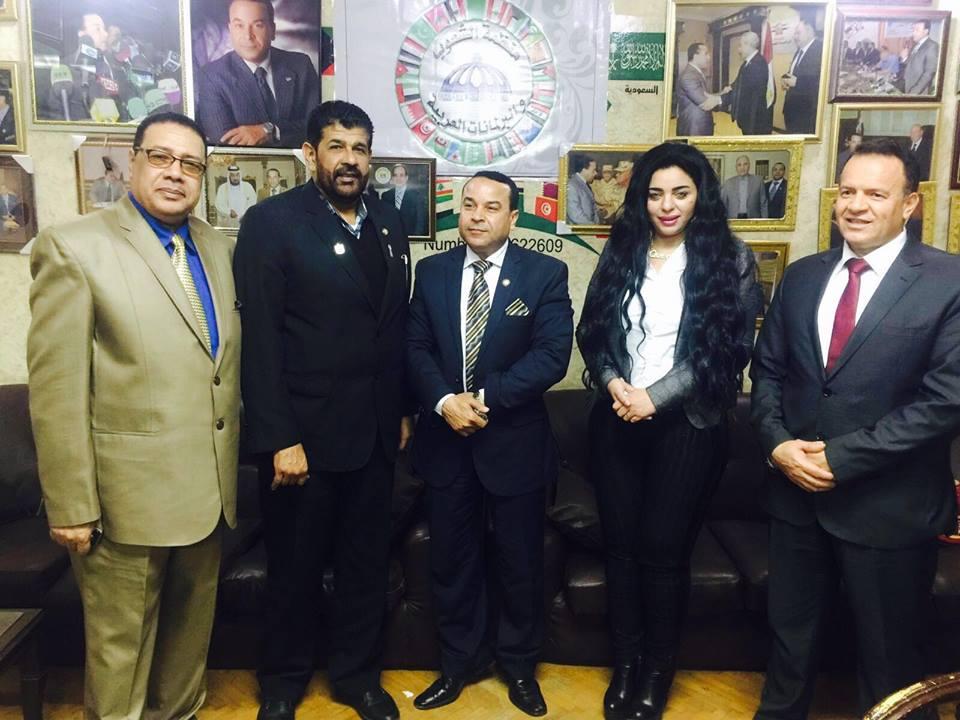 هند جاد أمينا عاما مساعدا للاتحاد الرياضي العربي وأمينا عاما للرياضه النسائيه