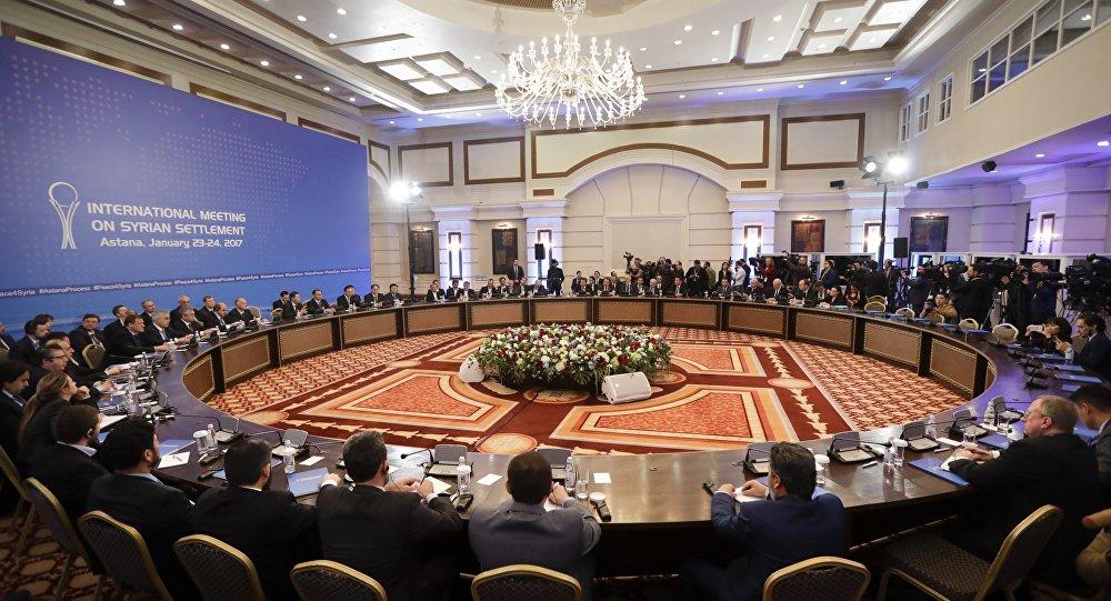 مناقشات روسية تركية إيرانية لوضع إطار زمنى لجولة محادثات جديدة لأستانة