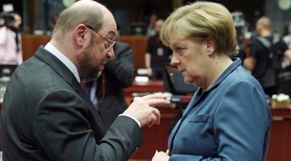 استطلاع: مرشح الحزب الديمقراطي الاشتراكي في ألمانيا سيتغلب على ميركل