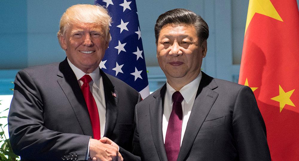 الرئيسان الصيني والأمريكي يناقشان هاتفيًا الوضع في شبه الجزيرة الكورية والتجارة الثنائية