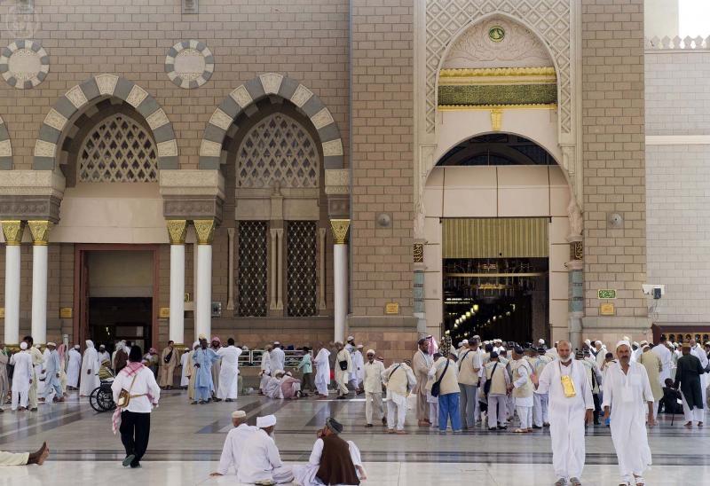 رئاسة المسجد النبوي تودع ضيوف الرحمن بعد أدائهم مناسك الحج