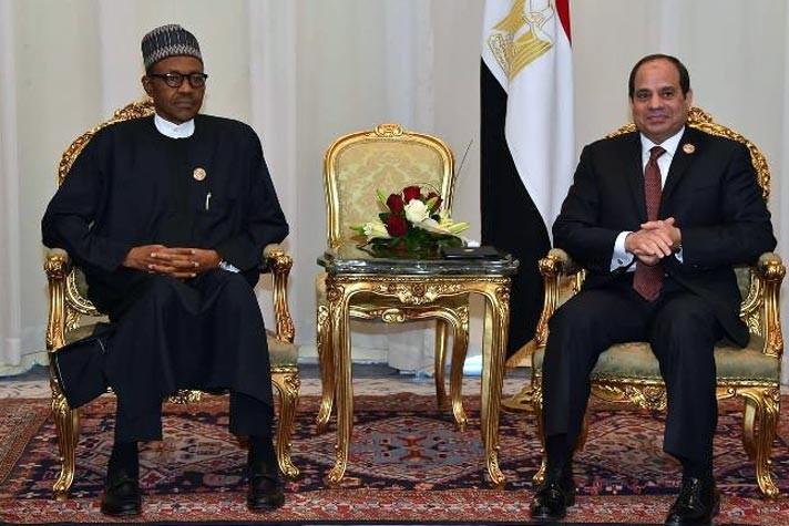 الرئيس السيسي يبحث هاتفيًا مع نظيره النيجيري تعزيز التعاون في مختلف المجالات