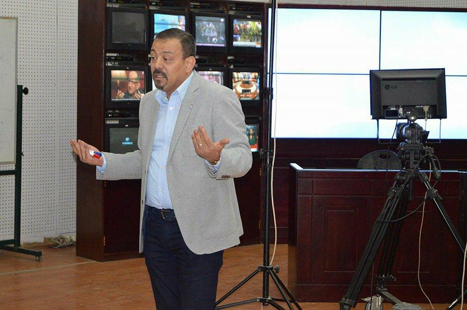 صور   عمرو الكحكي يحاضر بالملتقي العربي للتدريب الإعلامي برعاية قناة ON Live