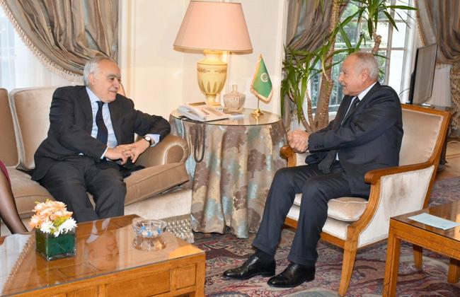 أبو الغيط يبحث مع المبعوث الأممي غسان سلامة تطورات الأوضاع على الساحة الليبية