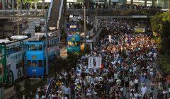 مليونا شخص يظهرون علامات اضطراب ما بعد الصدمة بسبب احتجاجات  هونج كونج