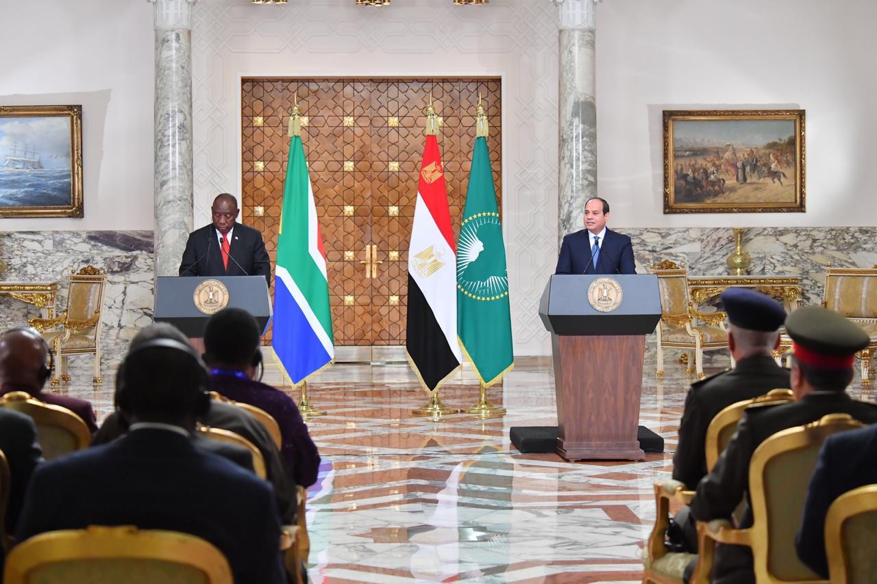 استقبال رئيس جنوب أفريقيا11