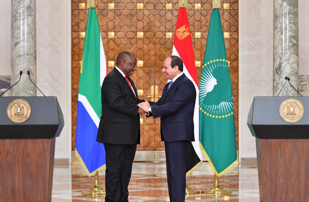 استقبال رئيس جنوب أفريقيا12