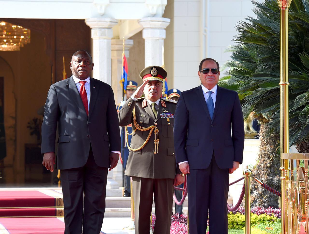 استقبال رئيس جنوب أفريقيا3