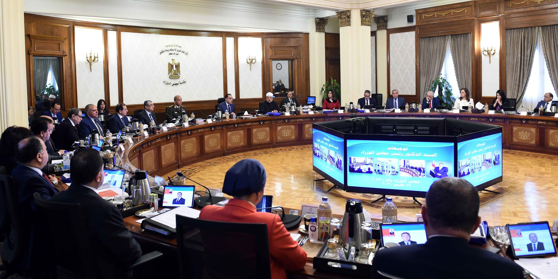 اجتماع حكومة مدبولي