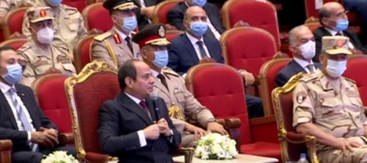 الرئيس السيسي: خبرة مصر التاريخية مع الأزمات تتطلب الوعى بالحفاظ على الدولة