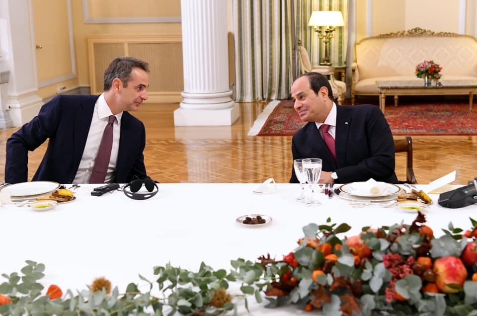 السيسي-رئيسة اليونان4