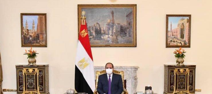 الرئيس السيسي يؤكد لوزيري خارجية الأردن وفلسطين أن القضية الفلسطينية من ثوابت السياسة المصرية