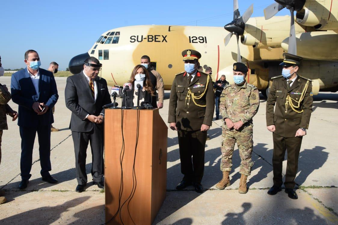 مساعدات طبية للجيش اللبناني-5