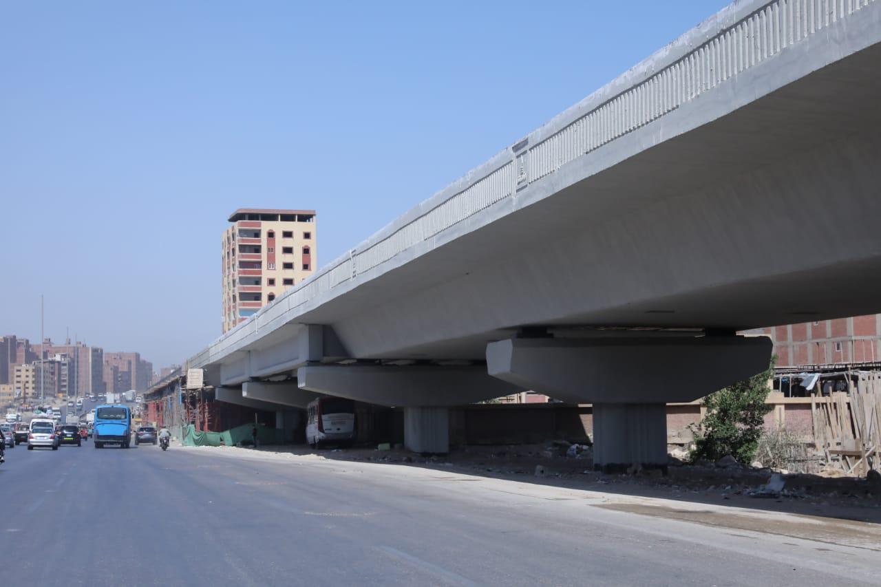 تفقد وزير النقل للطريق الدائري-14