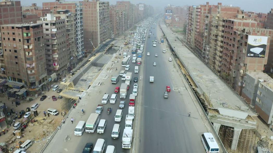 تفقد وزير النقل للطريق الدائري-24