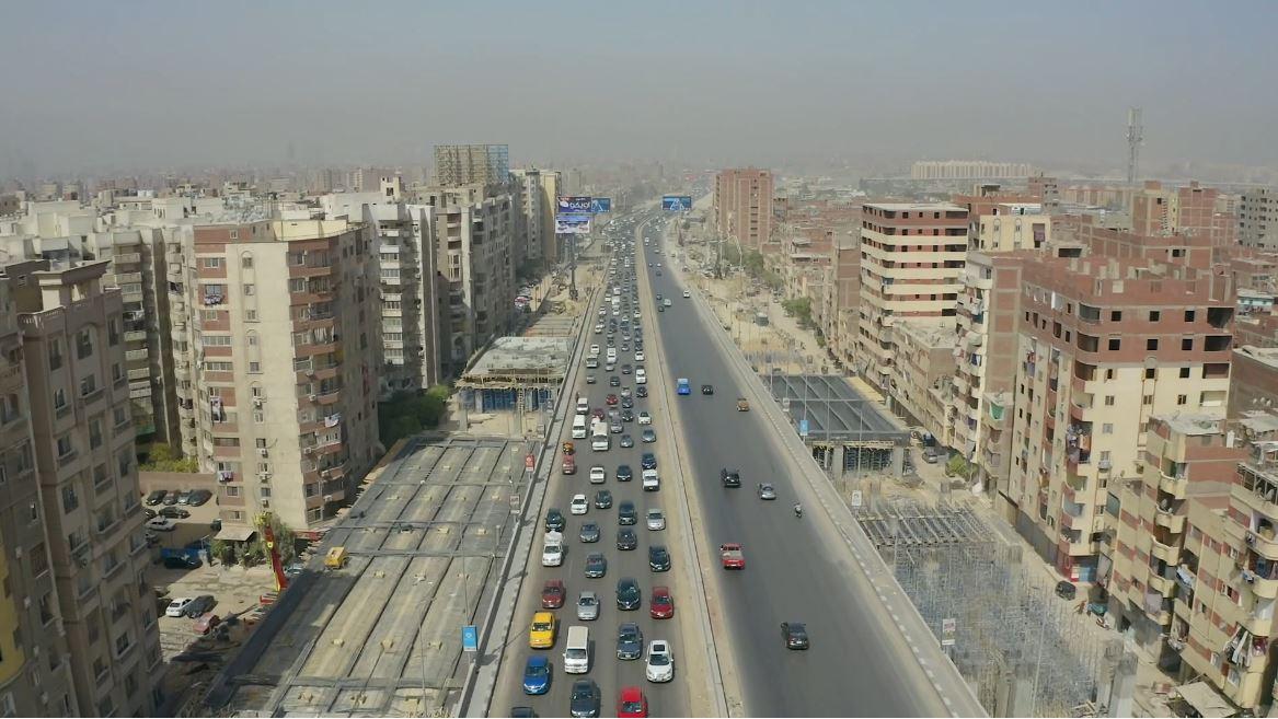 تفقد وزير النقل للطريق الدائري-36