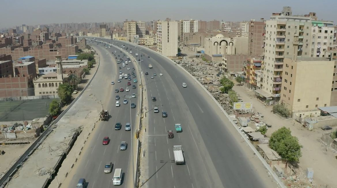 تفقد وزير النقل للطريق الدائري-40